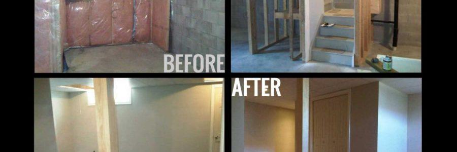 basement reno markham