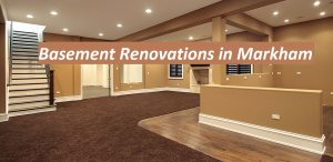 basement renovation markham